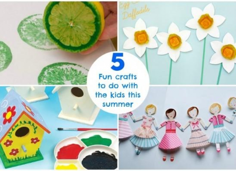 5 Fun Crafts To Do With The Kids This Summer