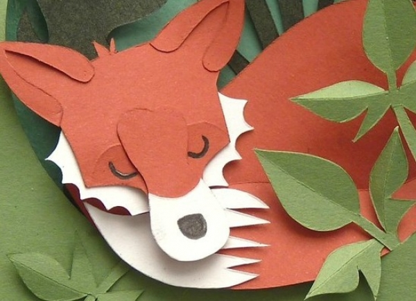 PaperCrafter Pin of the Week - Foxes