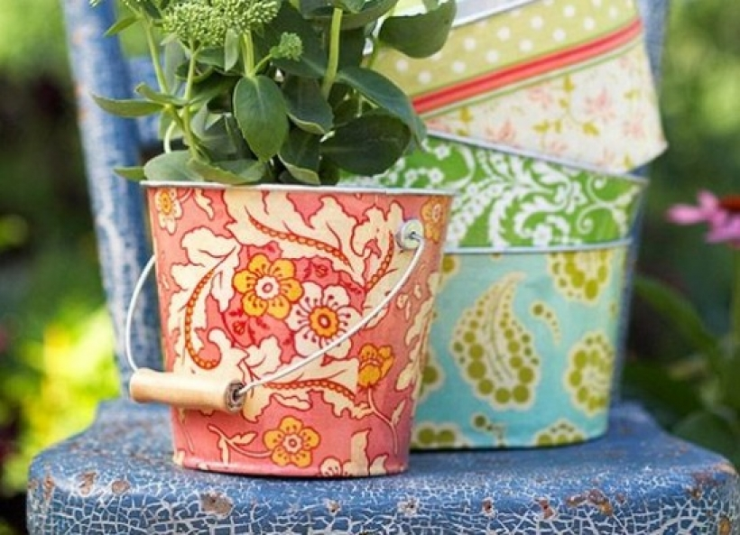 Try something new: decoupage