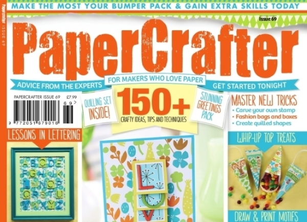 Sneak preview inside issue 69 of PaperCrafter