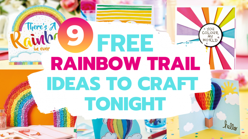 Rainbow Trail: 9 Free Projects To Craft Tonight
