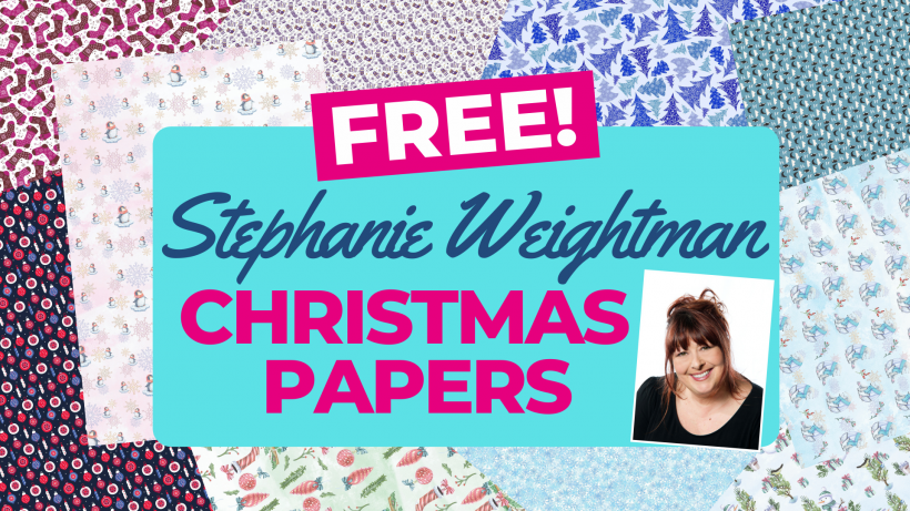 FREE Stephanie Weightman Christmas Papers