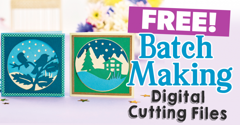 Free Batch Making Digital Cutting Files
