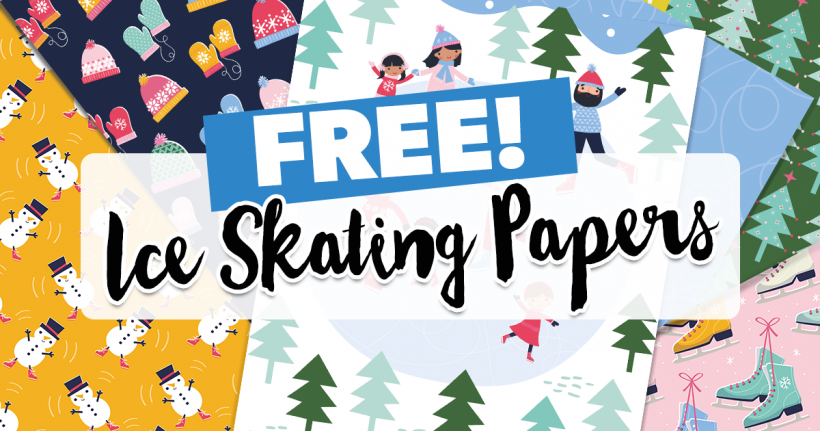 FREE Ice Skating Papers