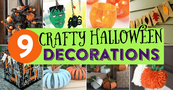 9 Crafty Halloween Decorations
