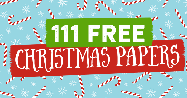 111 FREE Christmas papers