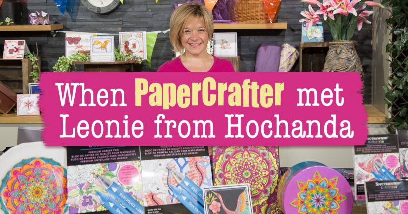 When PaperCrafter met Leonie from Hochanda