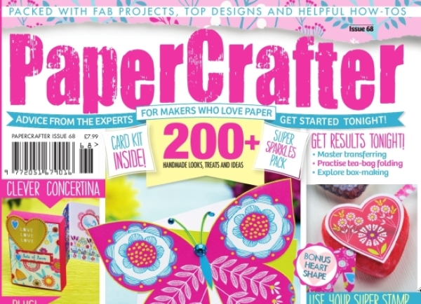Sneak preview inside issue 68 of PaperCrafter