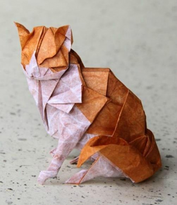 how to make hard origami animals