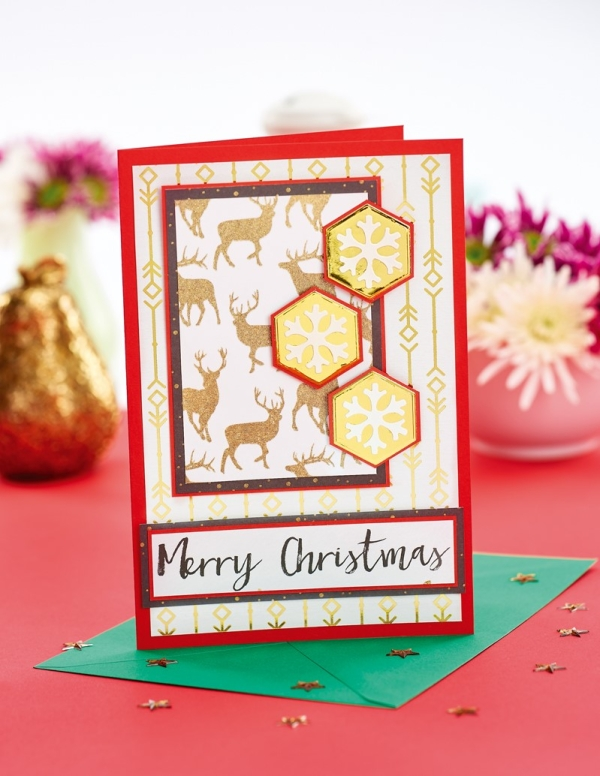 7 Cards To Craft And Send On Festive Friday 2017!