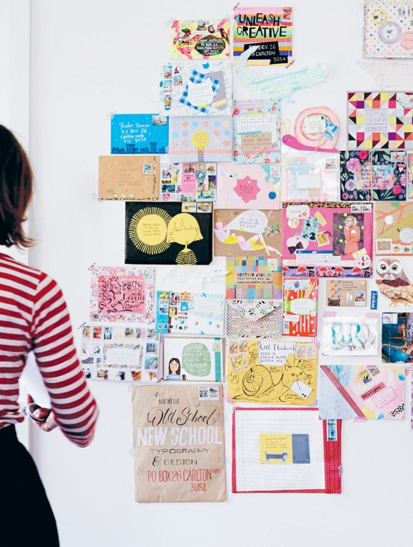 When PaperCrafter met author and mail expert, Michelle Mackintosh