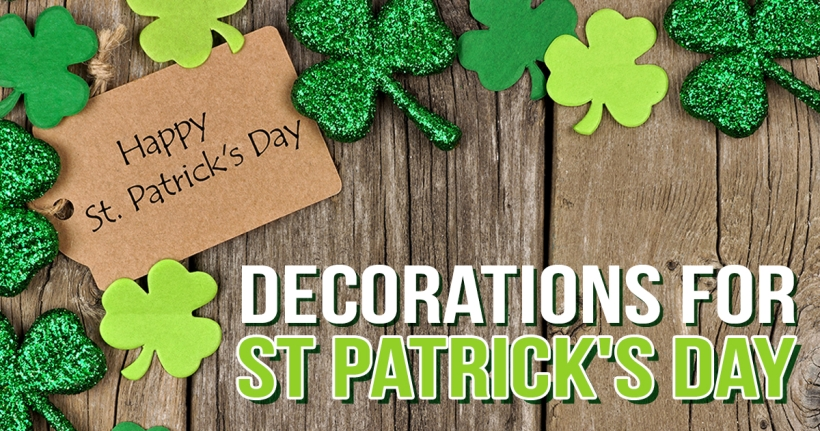 Decorations for St Patrick's Day