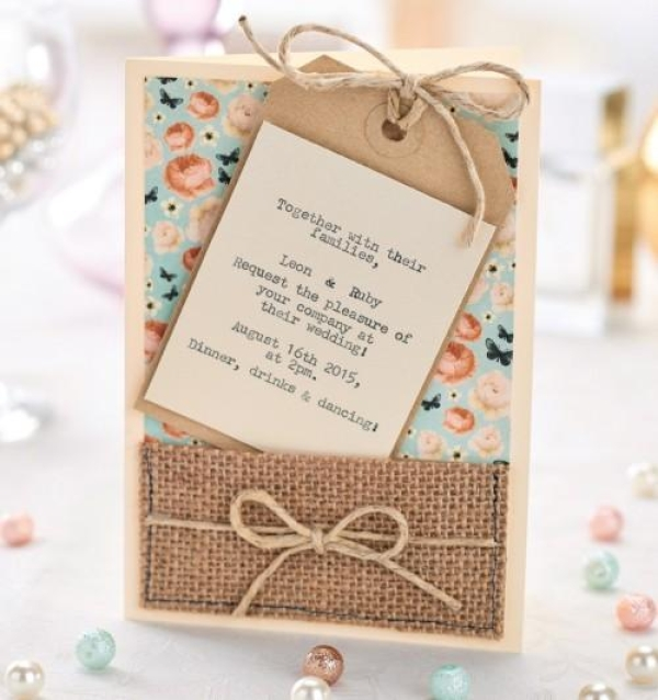 5 Reasons To Make Your Own Wedding Invites