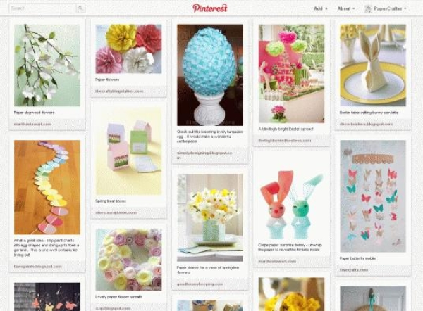 Easter papercraft ideas on Pinterest