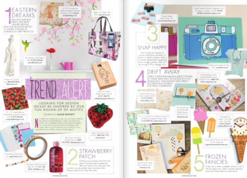 Peek inside PaperCrafter issue 62
