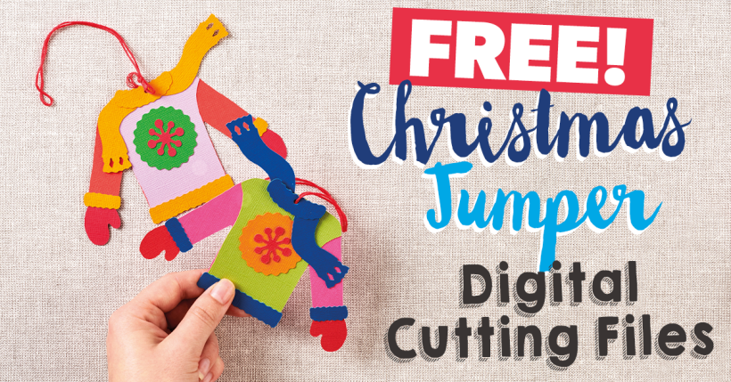 FREE Christmas Jumper SVG Cutting Files
