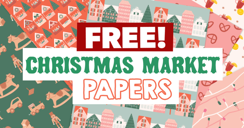 FREE Christmas Market Papers