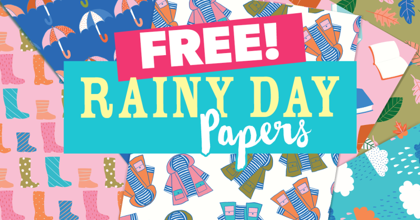 FREE Rainy Day Papers