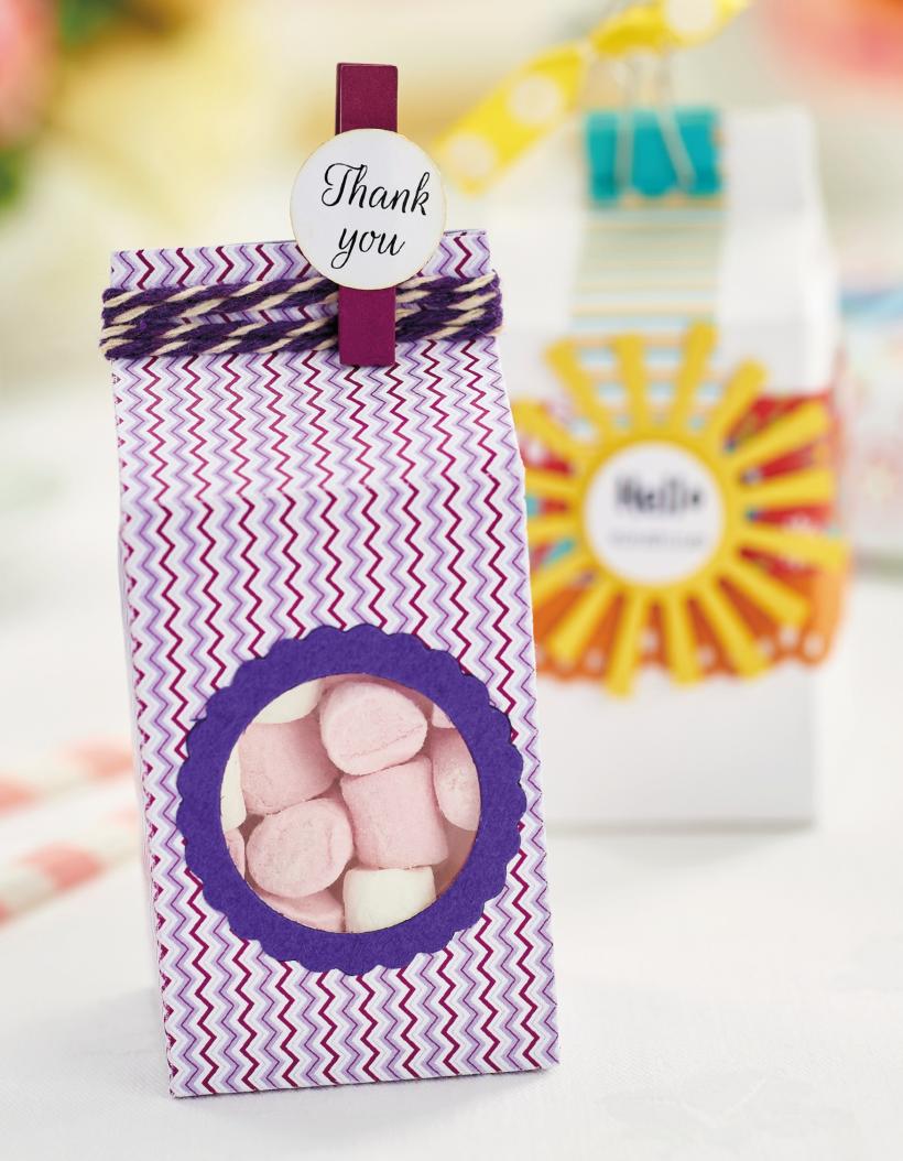 Milk Carton Gift Box Template