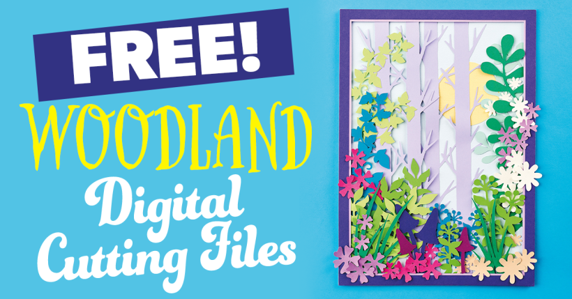 Free Woodland SVG Cutting Files