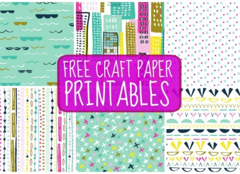 free craft papers paper craft download