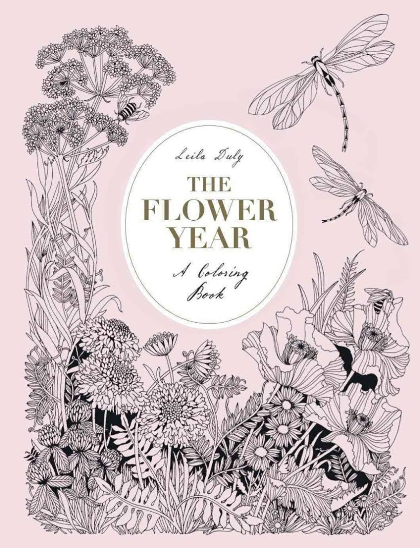 FREE Flower Colouring Downloads