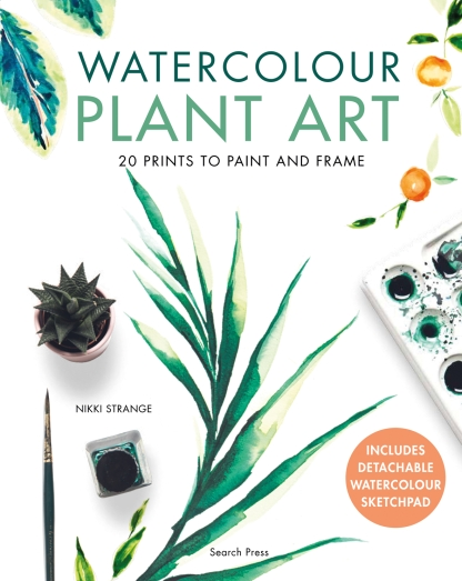 Win a copy of Watercolour Plant Art