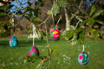Win one of three family passes to an Easter craft trail