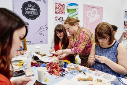 Win One of 25 Pairs of Creative Craft Show Tickets