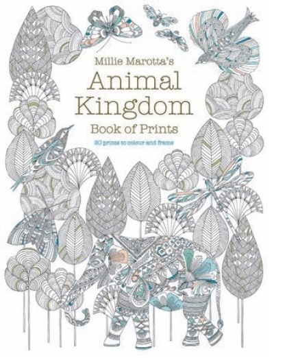 Win a Copy Of The Animal Kingdom Colouring Book