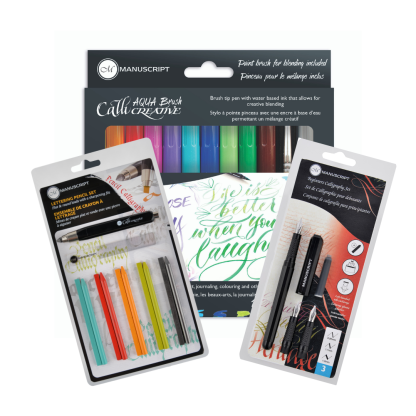 Four calligraphy kits worth over £48 each!