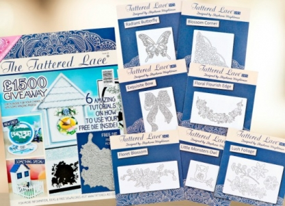 Win a Tattered Lace annual subscription