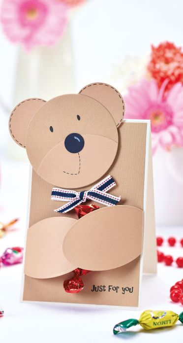 Cute Father's Day Bear Card