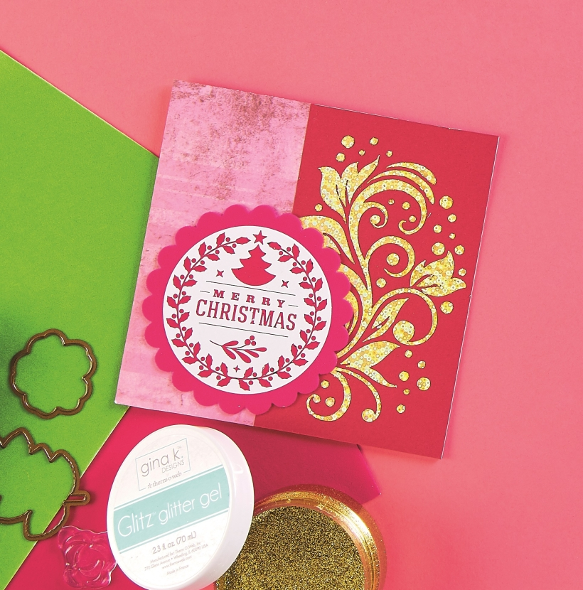 Foiled Christmas Cards