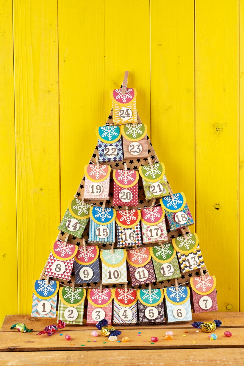 Make this advent calendar in one afternoon