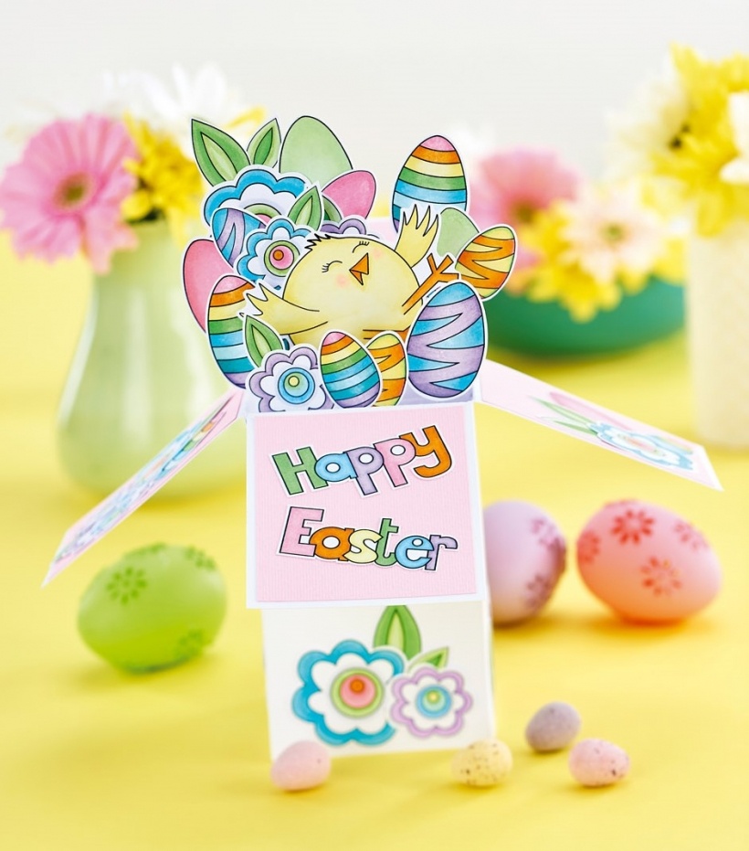Exploding Easter Box Card