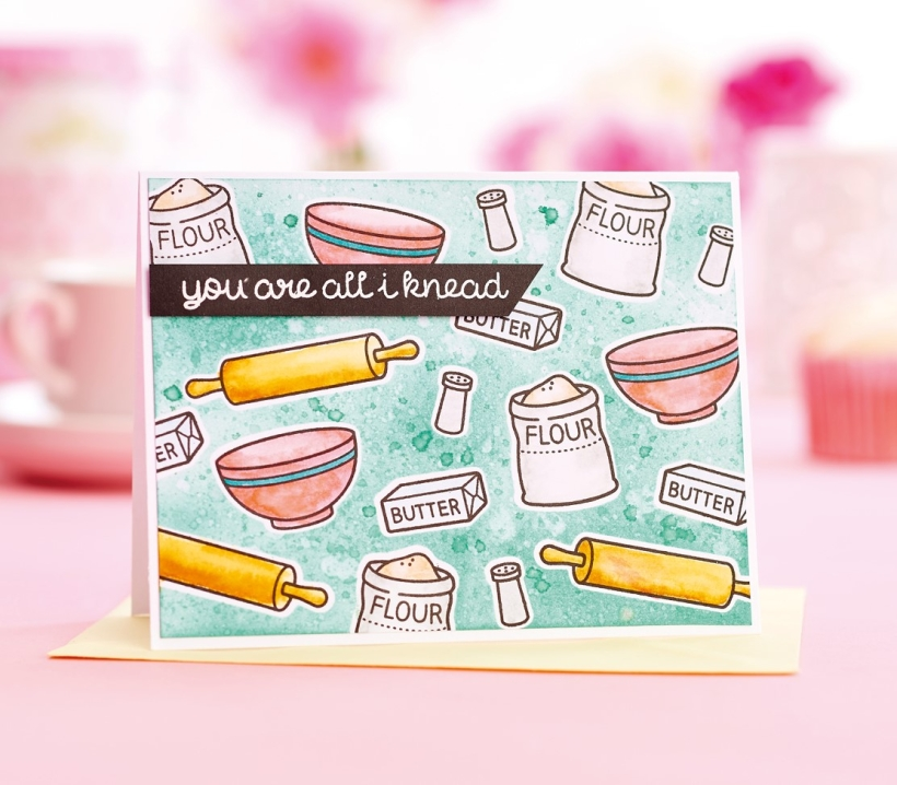 Co-ord baking card