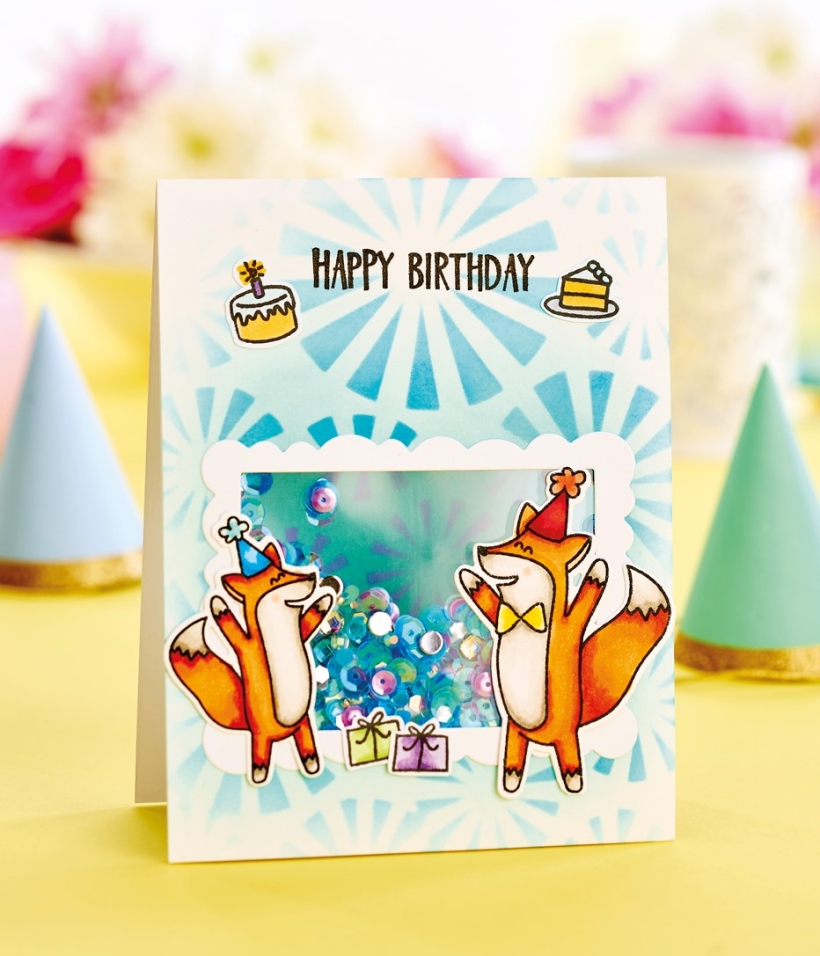 Party shaker card