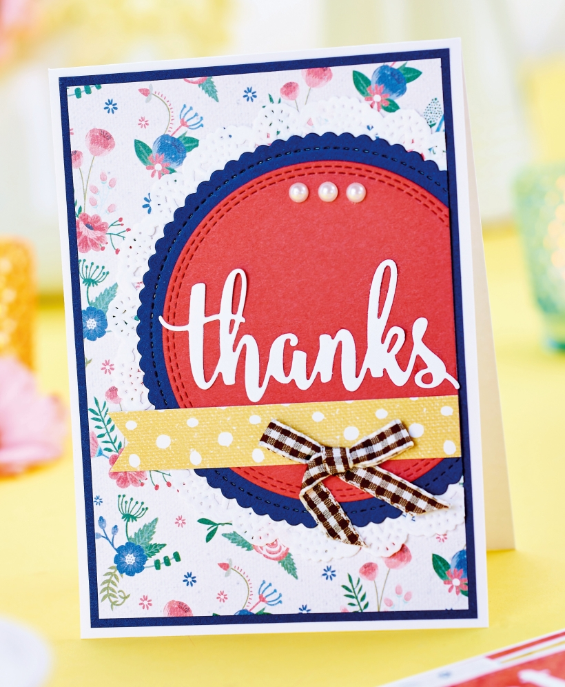 Free Thank You Card Project