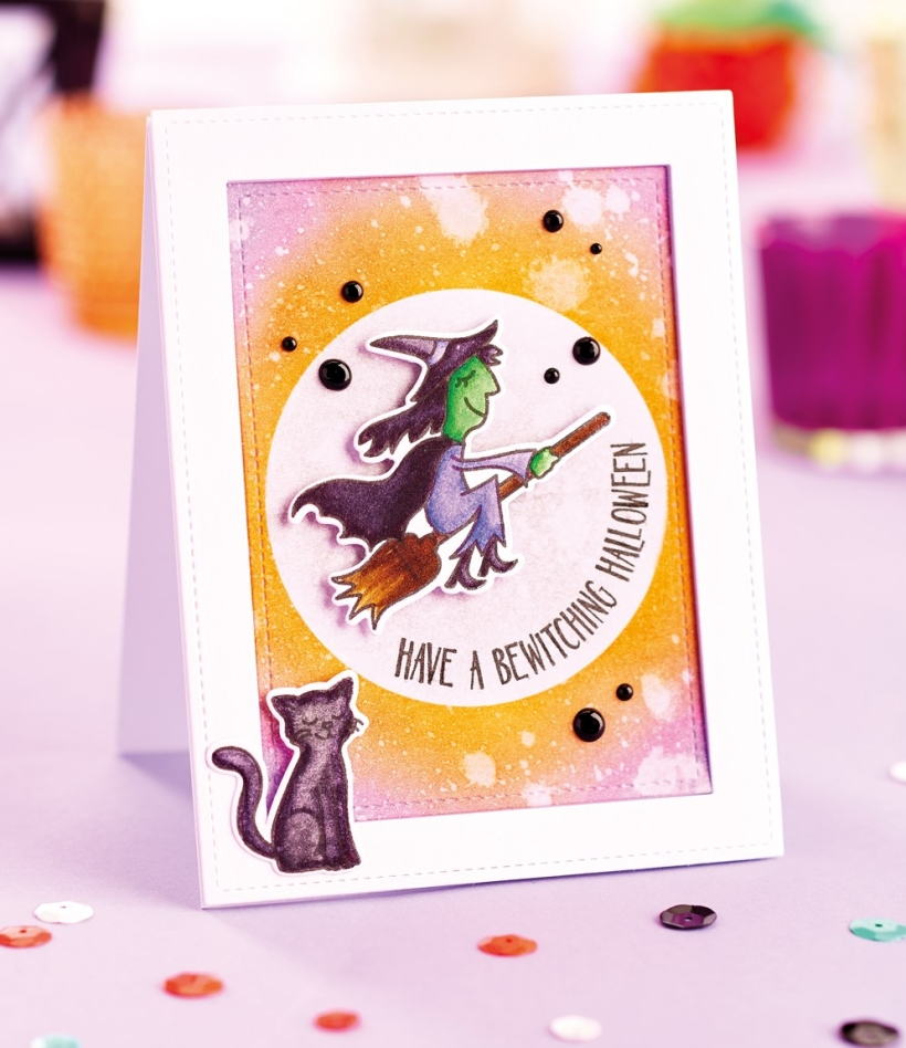 Inked Halloween cards
