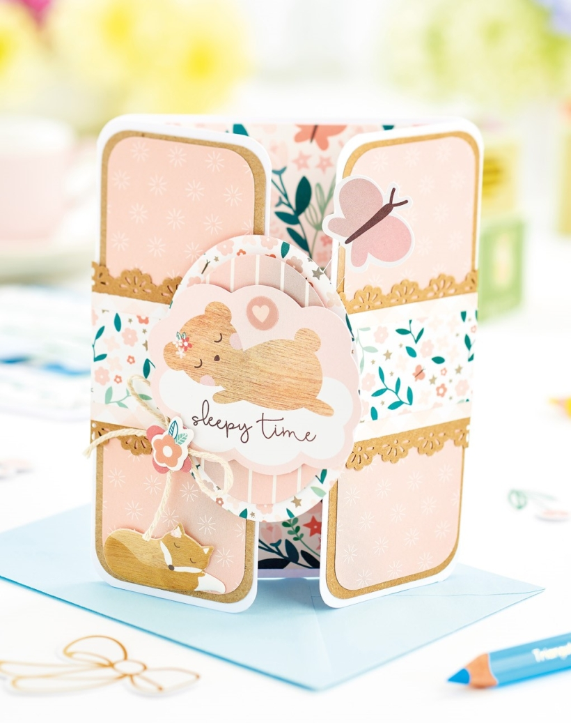 New Baby Gatefold Card