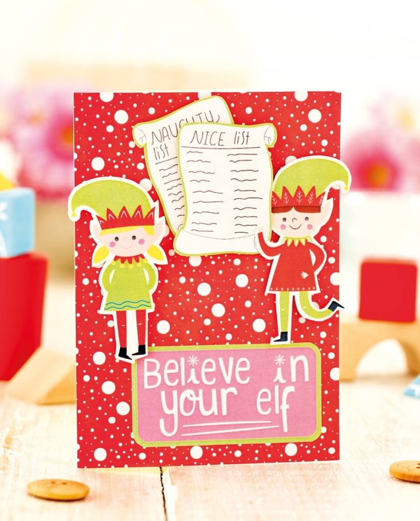 Free christmas card making projects