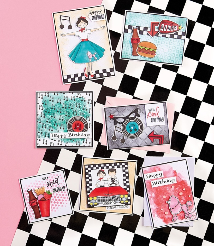 Rockabilly Cards