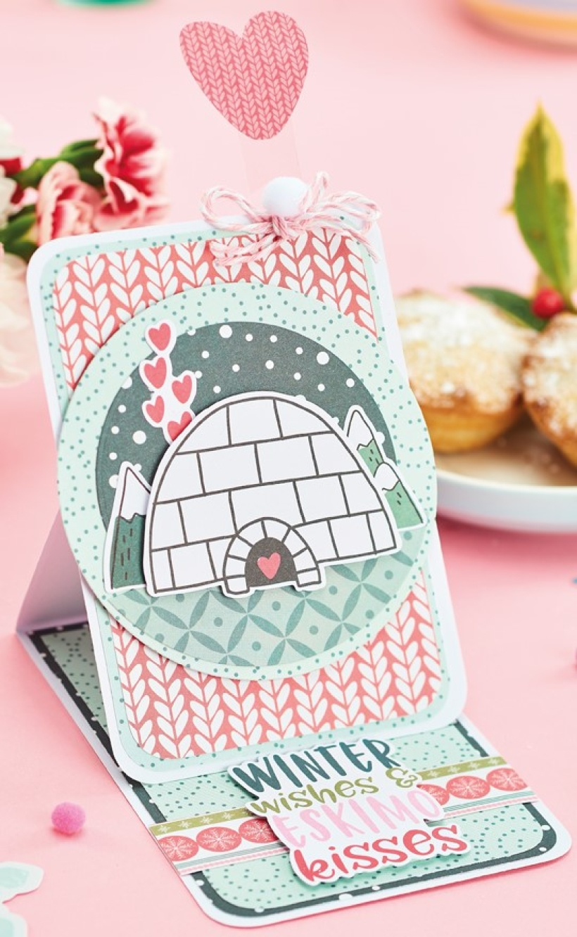 Winter Wishes Easel Card