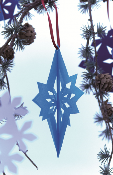 Make A Papercut Star Decoration