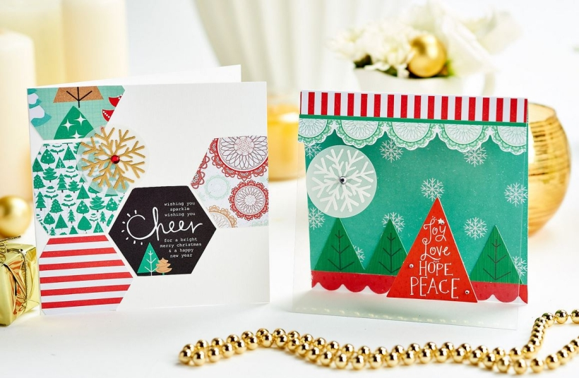 Two Speedy Christmas Cards