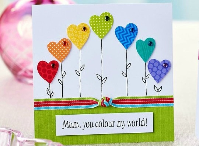 Fab 5 Mother's Day makes PaperCrafter project
