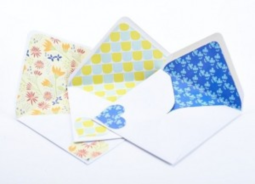 How to… line an envelope