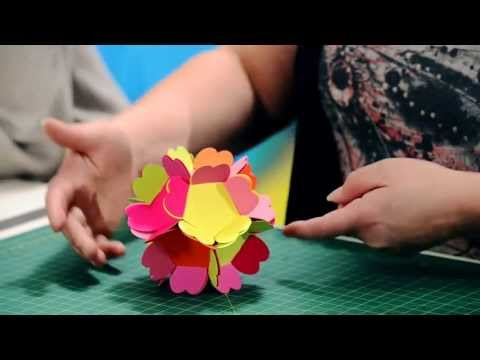 How To Make Decorative Floral Balls