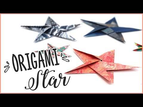 How To Make Origami Stars - Detailed Instructions